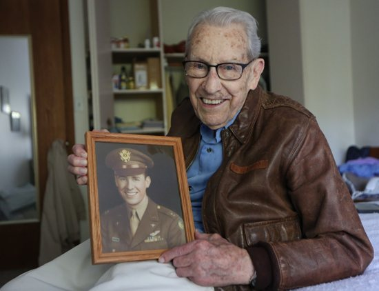 Don Stoulil, a veteran dedicated to faith, family and his country, piloted 31 missions in the cockpit of a B-17 credits St. Therese of Lisieux for survival.