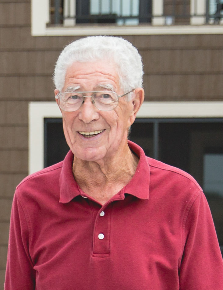 Irv Wiese, pictured here, is a treasured resident and volunteer at Saint Therese of Woodbury.